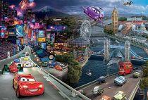 Papírové puzzle 160 dílů CARS