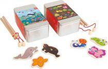Small Foot Rybaření 2 sady v dárkových boxech