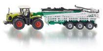 SIKU Farmer - Traktor Claas Xerion s cisternou, 1:87