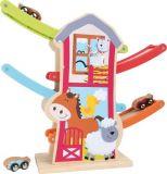 Dřevěné hračky - Dřevěná kuličková dráha Farma