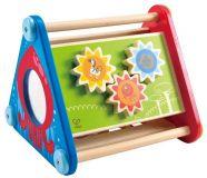 HAPE dřevěné hračky - dřevěný motorický box