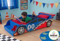 Dřevěné hračky KidKraft Postel zvodní auto