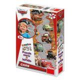 Dino Papírové puzzle 150 dílků CARS dětský metr