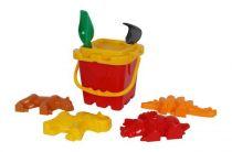 Plastová hračka na písek - Formičky pravěk