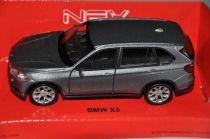 Welly - BMW X5 1:34 stříbrné