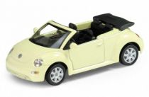 Welly - Volkswagen New Beetle Convertible1:34 žlutý