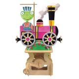 Dřevěné hračky ARToy stavebnice pohyblivého modelu vlak