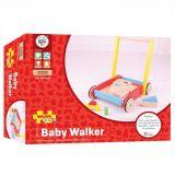 Dřevěné hračky Bigjigs Baby Dřevěné kostky ve vozíku Bigjigs Toys