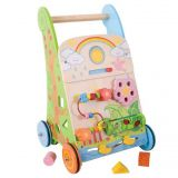 Dřevěné hračky Bigjigs Baby Dřevěné aktivní chodítko zahrada Bigjigs Toys