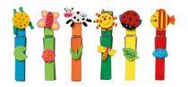 Small Foot Dřevěné dekorativní kolíčky na prádlo barevné 24ks