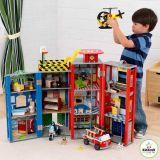 Dřevěné hračky - KidKraft Hrací set EVERYDAY HEROES
