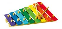 Dřevěné hračky - Xylofon barevný 8 not