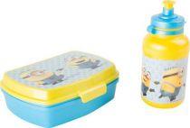 Mimoň láhev a krabička na potraviny