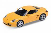 Welly - Porsche Cayman S 1:34 žluté
