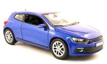 Welly - VW Scirocco 1:24 modrý