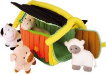 Small Foot Textilní hračky farma