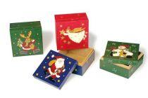 Vánoční dekorace - Vánoční krabičky