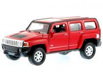 Welly - Hummer H3 1:34 červený
