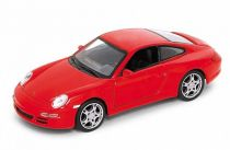 Welly -  Porsche 911 (997) Carrera S 1:34 červené