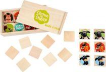 Dřevěná hra - Ovečka Shaun Pexeso
