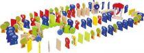Dřevěné hračky - Domino Rallye Zoo