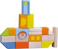 Dřevěné hračky Small Foot Dřevěné stavební kostky podmořský svět Small foot by Legler