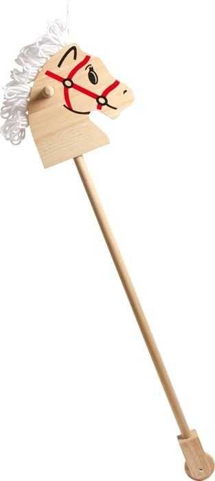 Dřevěné hračky Small Foot Dřevěný koníček na tyči Small foot by Legler
