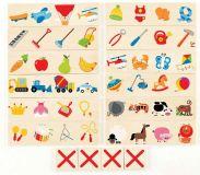 HAPE dřevěné hračky - dřevěná hra nehodící  se škrkni