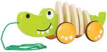 Hape Dřevěný tahací krokodýl