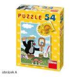 Papírové puzzle 54 dílků Krteček