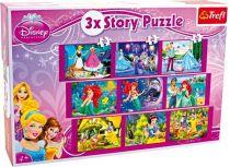 Puzzle Puzzle 3 v 1 - Disney - 3 princezny