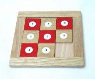 Dřevěná didaktická hračka - Čísla