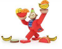 Small Foot Dřevěná motorická hra balancující opička