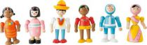 Small Foot Flexibilní dřevěné figurky lidé všech národností
