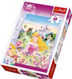 Puzzle 30 dílů Disney Princezny
