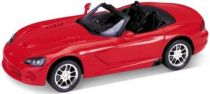 Welly - 2003 Dodge Viper SRT-10 1:24 červený