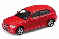 Welly - BMW 120i 1:34 červené