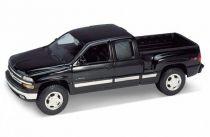 Welly - Chevrolet Silverado Extended černočervený tunning 1:24