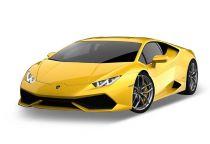 Welly - Lamborghini Huracán LP610-4 1:34 žluté