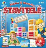 Dětské hlavolamové smart hry - Stavitelé