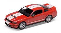 Welly - 2007 Shelby Cobra GT500 1:24 červený