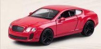 Welly - Bentley Continental Supersports 1:34 červené