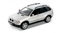 Welly - BMW X5 1:24 stříbrná