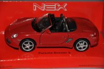 Welly - Porsche boxster S 1:34 červené