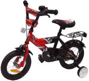 Alexis Dětské kolo 1201 Fun bike červené