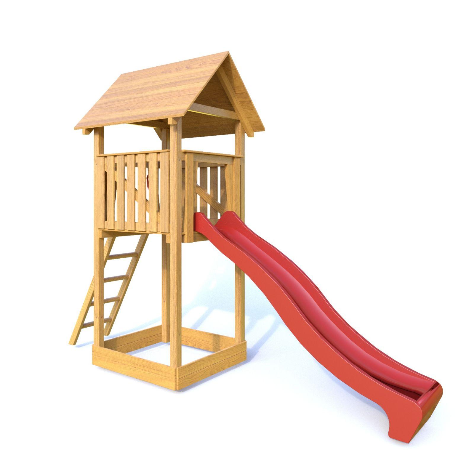 Dřevěné hračky Dřevěné dětské hřiště - Stavebnice hřiště Lucinka PA