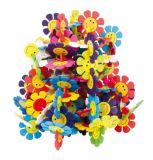 Dřevěné hračky - Dřevěná spojovací hra květina