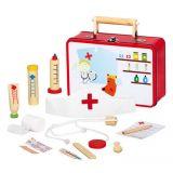 Dřevěné hračky Bino Dřevěné hračky zvěrolékařský kufřík