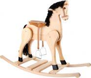 Small Foot Dřevěný houpací kůň Deluxe