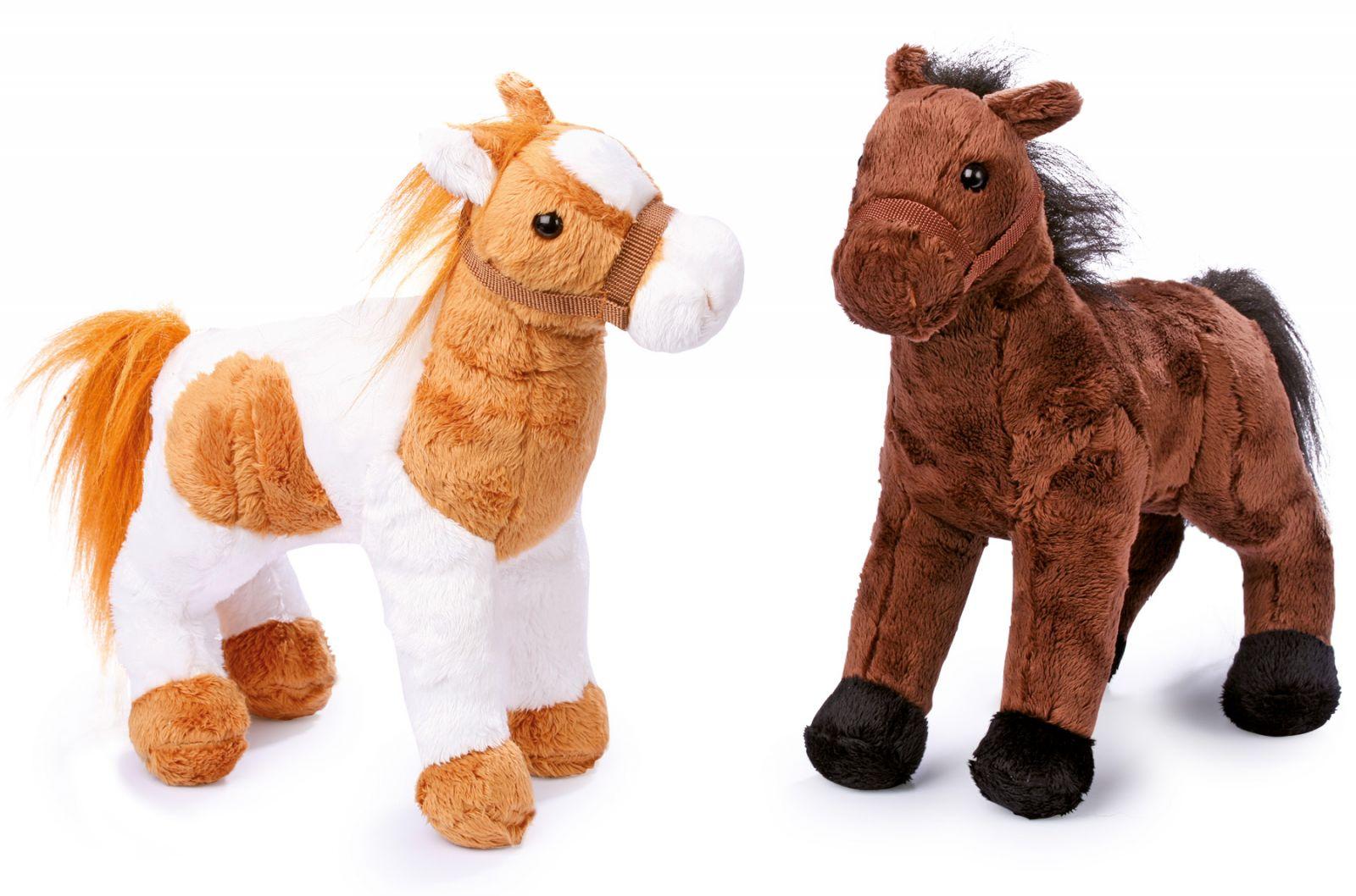 Dřevěné hračky Small Foot Plyšáci koně Penny a Molly Small foot by Legler